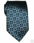 Cravatta seta inglese blu