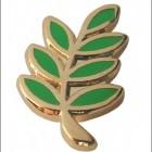 Spilla Acacia Verde